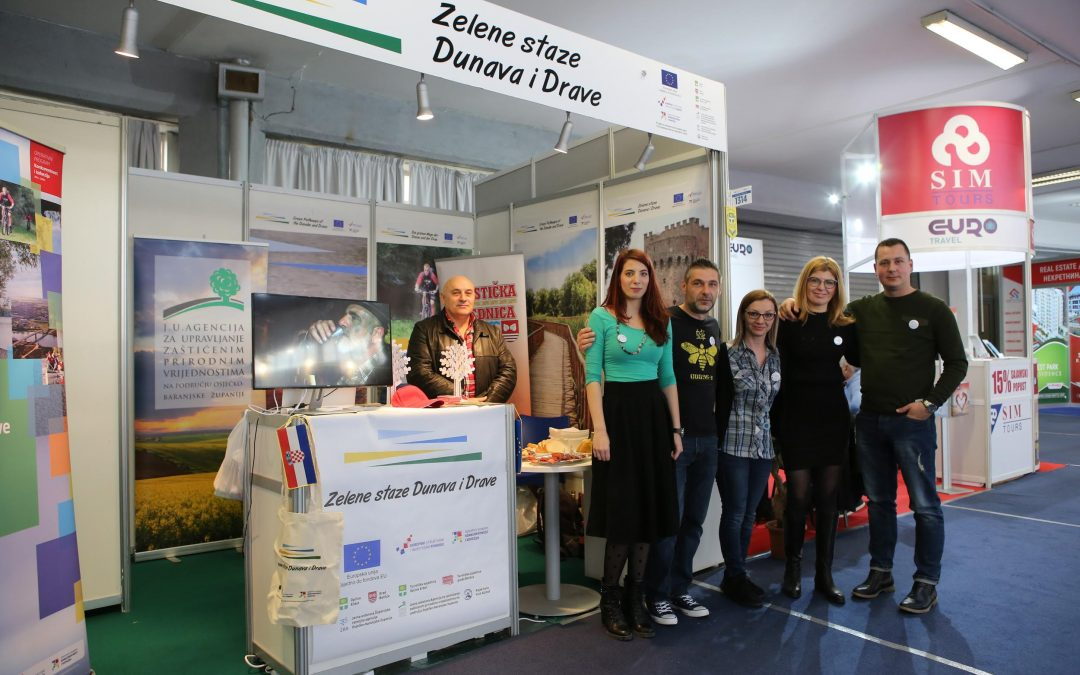 Turistički aduti projekta Zelene staze Dunava i Drave predstavljeni na 42. Međunarodnom beogradskom sajmu turizma
