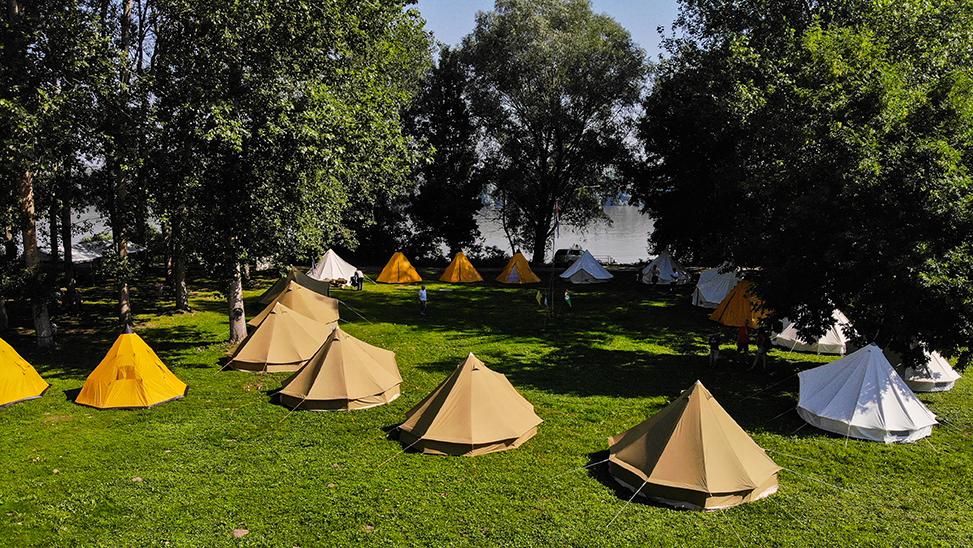 Tri zabavna i edukativna dana u istraživačkom kampu u Aljmašu